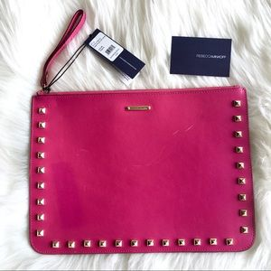NEW Rebecca Minkoff Pouch With Studs